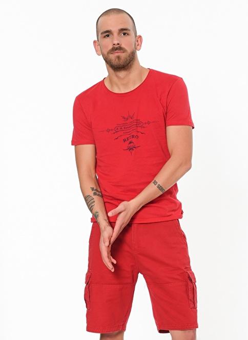 Phazz Brand Şort Kırmızı